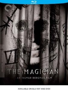 Portada de la versión inglesa de The Magician, de I. Bergman