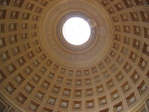 Cúpula del Panteón de Roma. Freepic.es