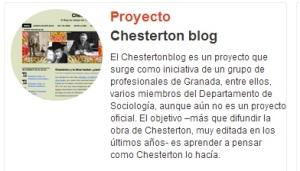Proyecto Chestertonblog en GrinUGR
