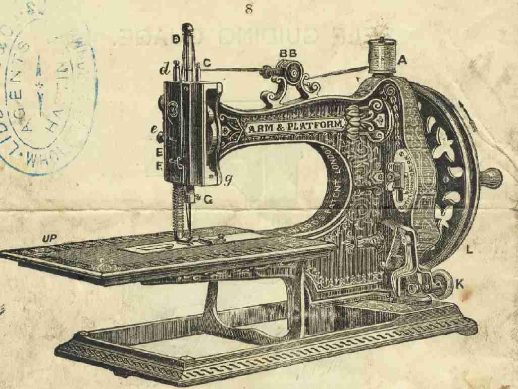 Chesterton el soci logo m s divertido chestertonblog - Maquinas de coser ladys ...