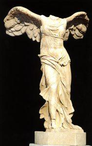 Victoria de Samotracia. Museo del Louvre