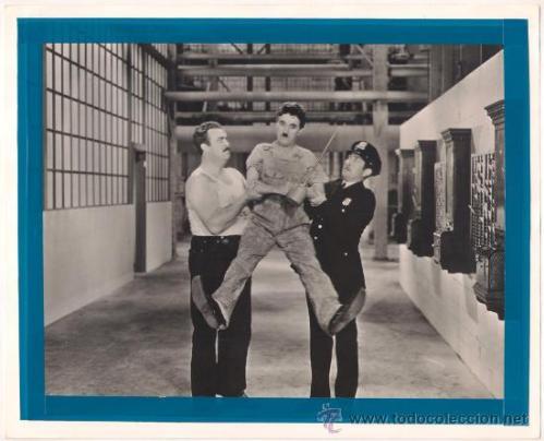 'Tiempos modernos' de Chaplin (1936): Capitalismo y Estado se hacen cargo del individuo
