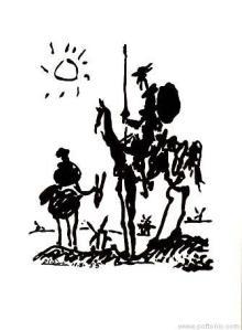 Chesterton critica en El regreso de don Quijote los defectos de su tiempo