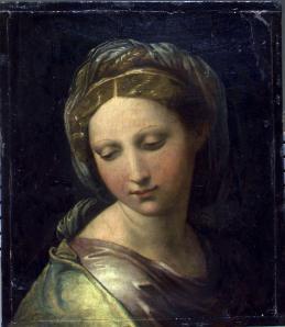 La Madonna escondida de Rafael