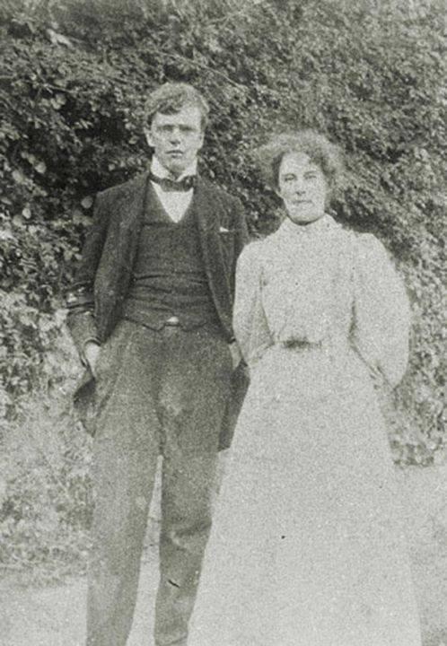 Los jóvenes Gilbert y Frances