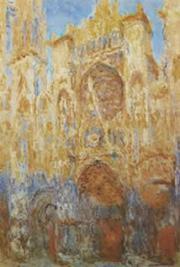 Elegimos una imagen de la serie de Monet sobre la Catedral de Rouen (1982, 'Al caer el sol de la tarde', Museo Marmottan de París) por la afición de Chesterton a la Edad Media