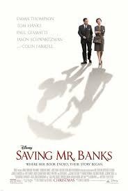 Cartel de Saving Mr Banks, dirigida por John Lee Hancock (2013)