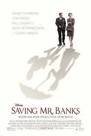 Cartel de Saving Mr Banks, dirigida por John Lee Hancock (2013)