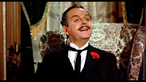 David Tomlinson representó a Mr. Banks en la inolvidable versión de Mary Poppins de 1964