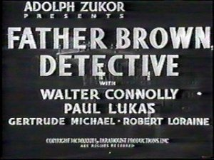 Father Brown Detective Title Card