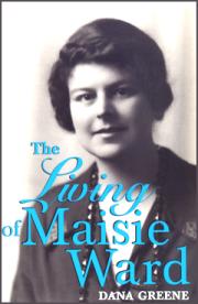 Portada de una biografía de Maisie Ward, amiga personal y editora de Chesterton. undpress.nd.edu