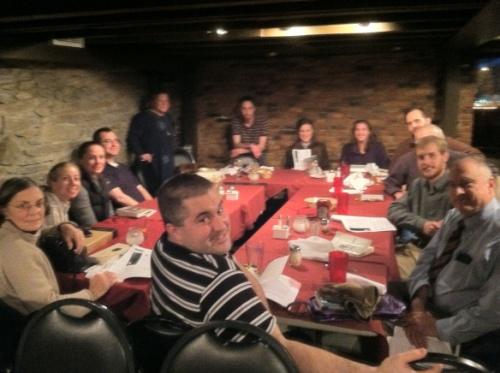 Albany Chesterton Society Foto del grupo 1212