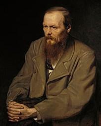 Dostoievski comparte preocupaciones con Chesterton. Retrato de Perov, Wikipedia.