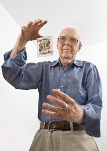 Martin Gardner, author of Undiluted Hocus-Pocus: The Autobiography of Martin Gardner
