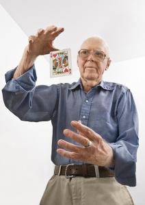 Martin Gardner, author of Undiluted Hocus-Pocus: The Autobiography of Martin Gardner